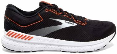 Brooks Transcend 7 - Black / Cherry Tomato / White (043)