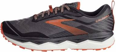 Brooks Caldera 4 - Black/Grey/Burnt Ochre (014)