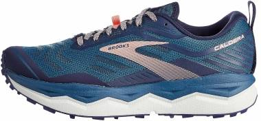 Brooks Caldera 4 - Blue Peacoat Desert Flower (456)