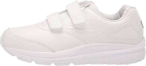 Brooks Addiction Walker V-Strap 2 - White/White (142)