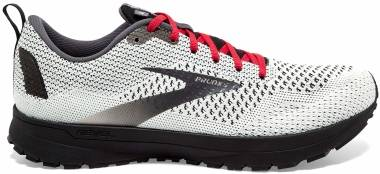 Brooks Revel 4 - White/Black/Red (151)