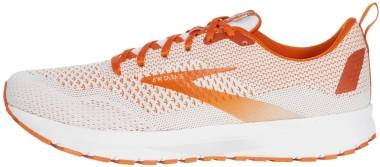 Brooks Revel 4 - White/Orange (155)