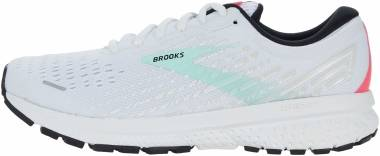 Brooks Ghost 13 - White/Yucca/Lilac (103)