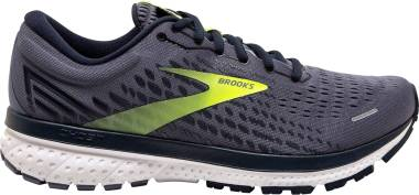 Brooks Ghost 13 - Grey / Navy / Nightlife (055)