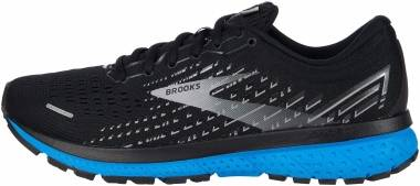 Brooks Ghost 13 - Black/Grey/Blue (018)