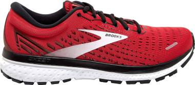 Brooks Ghost 13 - Highriskred Black White (668)