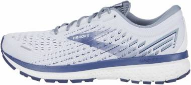 Brooks Ghost 13 - White/Grey/Deep Cobalt (161)