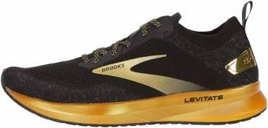 Brooks Levitate 4 - Black/Gold (054)