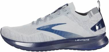 Brooks Levitate 4 - Grey/Oyster/Blue (008)