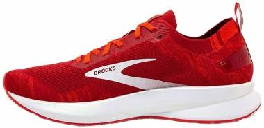 Brooks Levitate 4 - Red / Cherry Tomato / White (672)
