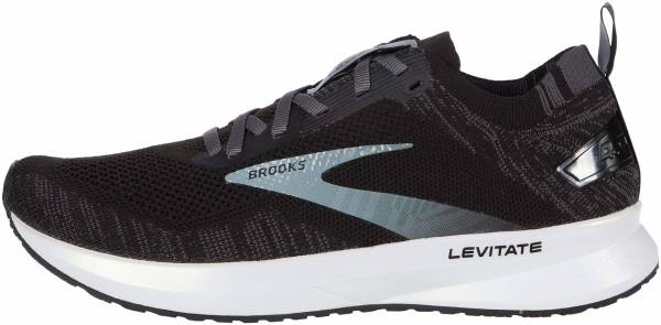 Brooks Levitate 4 - Black / Blackened Pearl / White (012)