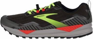 Brooks Cascadia 15 - Black Raven Cherry Tomato (076)