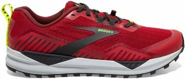 Brooks Cascadia 15 - Samba Red Brick Black (650)