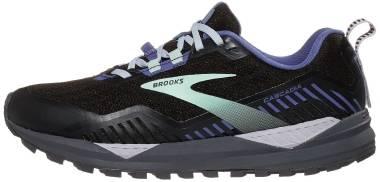 Brooks Cascadia 15 GTX - Black Marlin Blue (065)