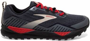 Brooks Cascadia 15 GTX - Black / Ebony / Red (061)