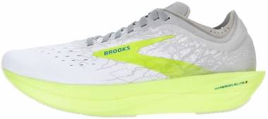 Brooks Hyperion Elite 2 - White Silver Nightlife (111)