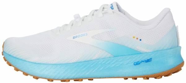 Brooks Catamount - White/Iced Aqua/Blue (160)