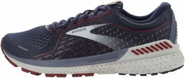 Brooks Adrenaline GTS 21 - Peacoat/Grey/Red (420)