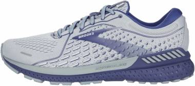 Brooks Adrenaline GTS 21 - Grey/Tradewinds/Deep Cobalt (006)