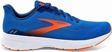 Brooks Launch 8 - Blue / Orange / White (463)