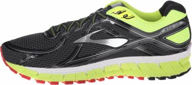 Brooks Adrenaline GTS 16 - (081) Nightlife / Black / High Risk Red (081)