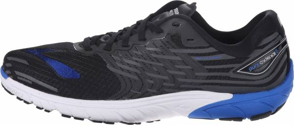Brooks PureCadence 5 men black (black/electric brooks blue/anthracite)