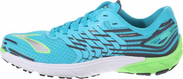 Brooks PureCadence 5 woman scuba blue/green gecko/anthracite
