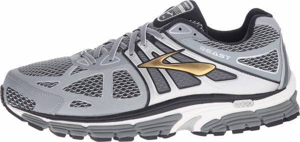 Brooks Beast 14 - Silver/Black/Gold