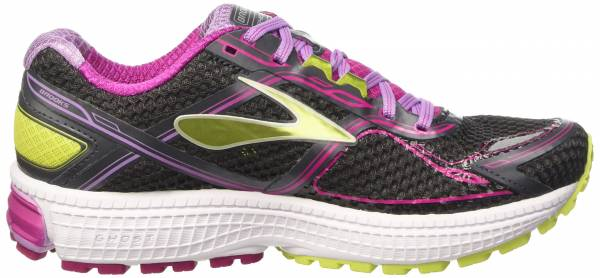 Brooks Ghost 8 woman anthracite/festival fuchsia/lime punch
