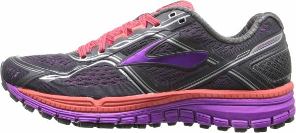 Brooks Ghost 8 woman anthracite/purple cactus flower