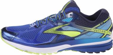 Brooks Ravenna 7 - Surf The Web Lime Punch Peacoat (484)