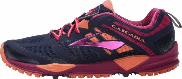 Brooks Cascadia 11 woman blue (peacoat/batonrouge/fusioncoral 451)