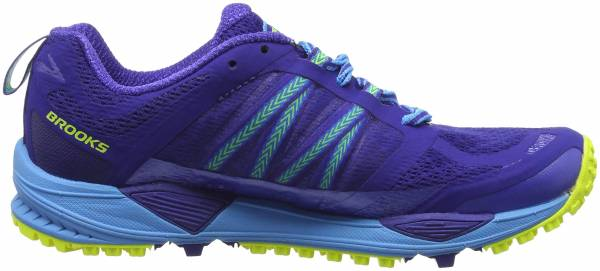 Brooks Cascadia 11 woman blue (blue/blue/yellow)