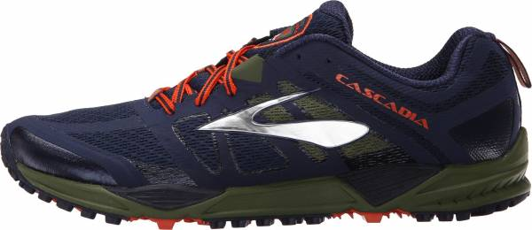 Brooks Cascadia 11 men multicolor (peacoat/olive/torch)