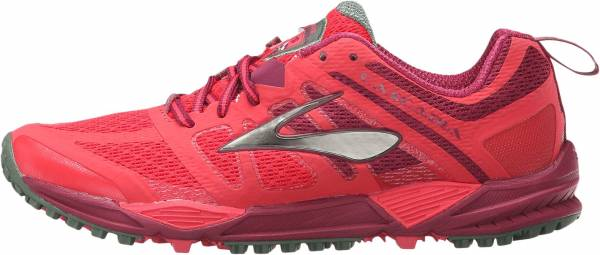 Brooks Cascadia 11 men teaberry/duck green/raspberry radiance