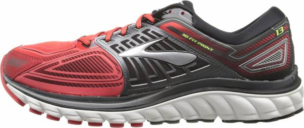 Brooks Glycerin 13 men rot (highriskred/black/nightlife)