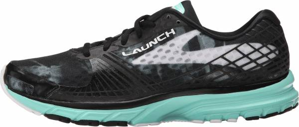 Brooks Launch 3 woman black/white/ice green