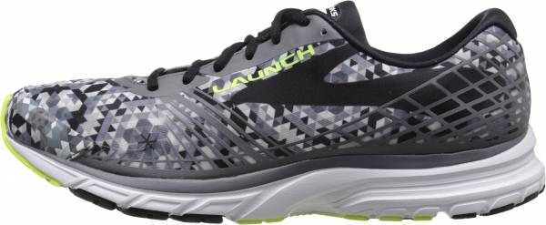 Brooks Launch 3 men kaleidoscope/black/white/nightlife