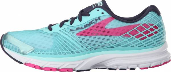 Brooks Launch 3 woman blue tint/pink glo/peacoat
