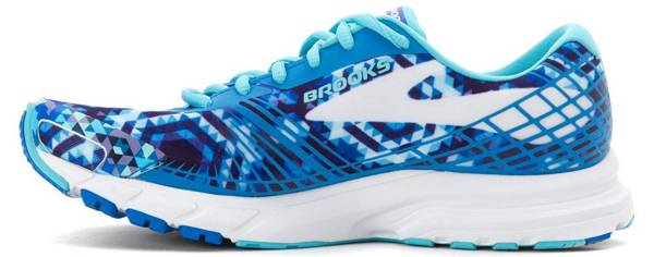 Brooks Launch 3 woman blue / aqua / cream