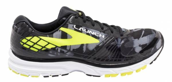 Brooks Launch 3 men black/lime