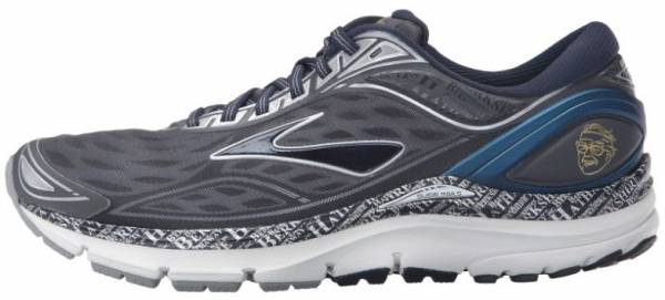 Brooks Transcend 3 men anthracite/peacoat/silver/blue