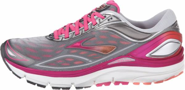 Brooks Transcend 3 woman silver/beet root purple/fresh salmon