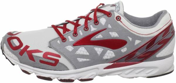 Brooks T7 Racer men tango red/cool grey/white