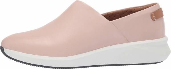 Clarks Un Rio Rise - Blush Leather