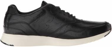 Cole Haan Grandpro Running Sneaker - Black/Black Camo Embossed (C28285)