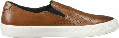 Cole Haan Grandpro Deck Slip-On Sneaker - British Tan Handstain Microperf (C30777)