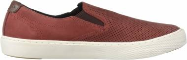 Cole Haan Grandpro Deck Slip-On Sneaker - Maroon Nubuck Microperf (C30771)