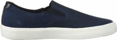 Cole Haan Grandpro Deck Slip-On Sneaker - Navy Ink Nubuck Microperf (C30772)