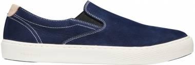 Cole Haan Grandpro Deck Slip-On Sneaker Marine Blue Nubuck Men